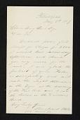 view Bernhard Uhle, Philadelphia, Pa. letter to Charles Henry Hart digital asset number 1