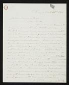 view Leonard Wells Volk, Chicago, Ill. letter to John Durand, New York, N.Y. digital asset number 1