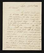 view Samuel Waldo, London, England letter to John Trumbull, New York, N.Y. digital asset number 1