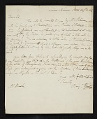 view Benjamin West letter to William Rawle digital asset number 1