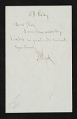 view A. H. (Alexander Helwig) Wyant letter to unidentified recipient digital asset number 1