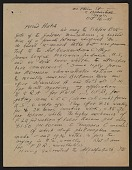 view Oscar Bluemner letter to John Davis Hatch digital asset number 1