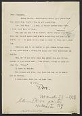 view Arthur Garfield Dove letter to Oscar Bluemner digital asset number 1