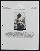 view Lonnie Holley biography digital asset number 1