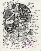 view Ray Johnson mail art to John Held digital asset number 1