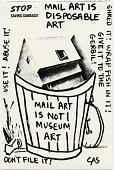view Carol Schneck mail art to John Held Jr. digital asset number 1