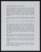 """view """"Rubber Stamps of Ray Johnson"""" digital asset: """"Rubber Stamps of Ray Johnson"""""""