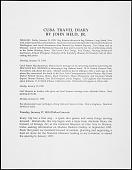 """view """"Cuba Travel Diary"""" digital asset: """"Cuba Travel Diary"""""""