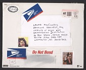 view John Held, San Francisco, Calif. mail art to Laura MacCarthy, Washington, D.C. digital asset number 1