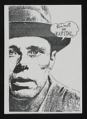 view Clemente Padin mail art to John Held Jr. digital asset number 1