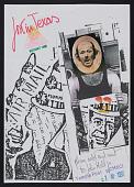 view Robin Crozier mail art to John Held Jr. digital asset number 1