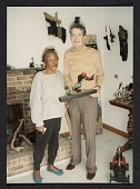 view Folk artist Bessie Harvey with Herbert Waide Hemphill digital asset number 1