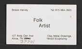 view Bessie Harvey's business card digital asset number 1