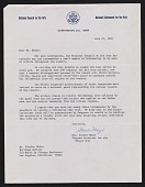 view Starke Meyer, Washington, D.C. letter to Charles White, Los Angeles, Calif. digital asset number 1