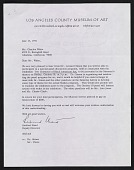 view Rexford Stead, Los Angeles, Calif. letter to Charles White, Altadena, Calif. digital asset number 1