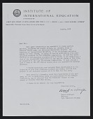 view Institute of International Education digital asset: Institute of International Education