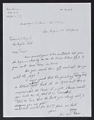 view Hofmann, Hans, Archival Material digital asset: Hofmann, Hans, Archival Material: 2000