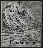 view Hofmann, Hans, Printed Material (book) digital asset: Hofmann, Hans, Printed Material (book): 1963