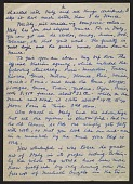 view Romare Bearden letter to unidentified recipient digital asset: page 1