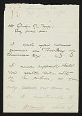 view Winslow Homer to George G. Briggs digital asset number 1