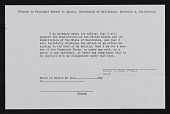 view Resolution adopted by The Regents of the University of California on April 21, 1950 and faculty oath card digital asset number 1