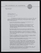 view Robert Gordon Sproul letter to Walter William Horn digital asset number 1