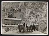 view Soldiers evacuating looted art from Neuschwanstein Castle digital asset number 1