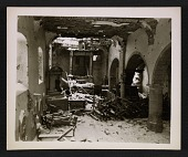view Interior of La Gleize Church in Belgium after the Battle of the Bulge digital asset number 1