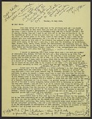 view Thomas Carr Howe draft letter to Edith Appleton Standen digital asset number 1