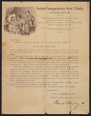 view Bruno C. Schulze letter to unidentified recipients digital asset number 1