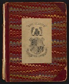 view Grace Anna Storrs Hunt travel diary digital asset: cover