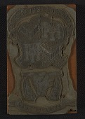 view Printing block with Hunt coat of arms digital asset number 1