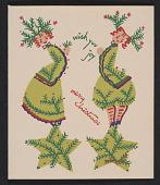 view Linda Stern Christmas card designed by Peter Hunt digital asset number 1