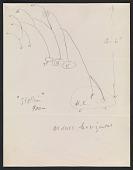 view Alexander Calder design sketch for <em>Stallion</em> digital asset number 1