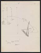 view Alexander Calder design sketch for <em>Long red wire</em> digital asset number 1