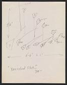 view Alexander Calder design sketch for <em>Varicolored flock</em> digital asset number 1