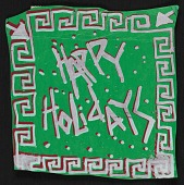 view Chuck E. Wheat christmas card to David Ireland digital asset number 1