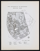 view 122: University of Baghdad, master plan with TAC digital asset: 122: University of Baghdad, master plan with TAC