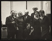 view Eric and Jula Isenburger with Alexander Archipenko and others digital asset number 1