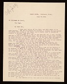view Carl Snyder, Florence, Italy letter to C. Hofstede de Groot digital asset number 1