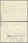view Handwritten list of Madame Jacques Doucet's collection of artwork by Picasso digital asset number 1
