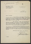 view Ludwig Losbichler Gutjahr, Barcelona, Spain letter to Germain Seligman, Paris, France digital asset: page 1