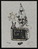 view William T. Wiley christmas card to Jimmy Jalapeeno digital asset number 1
