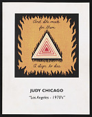 "view Exhibition catalog for <em>Judy Chicago: ""Los Angeles- 1970's""</em> digital asset number 1"