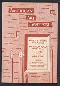 view American Arts Festival flyer digital asset number 1