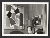 view View of Alma Thomas' living room in Washington, D.C. digital asset number 1