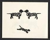 view John Charles Carroll Christmas card to Eleanor Jewett digital asset number 1