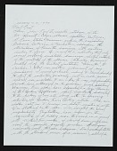 view Dan Flavin letter to Ellen H. Johnson digital asset number 1