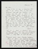 view Mary Miss letter to Ellen H. Johnson digital asset number 1