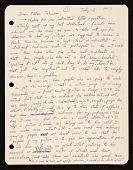 view Peter Saul, Mill Valley, Calif. letter to Ellen H. Johnson digital asset number 1